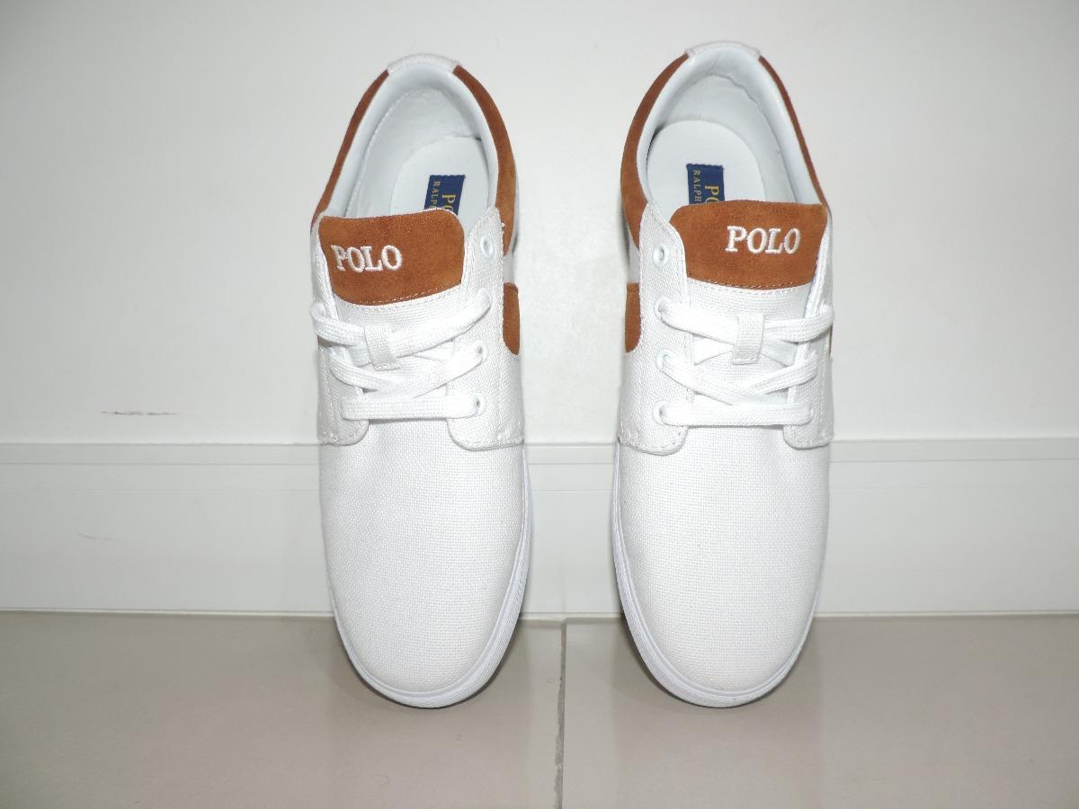 Sapato Ralph Lauren Original - Branco - R  169 be98ebfc085