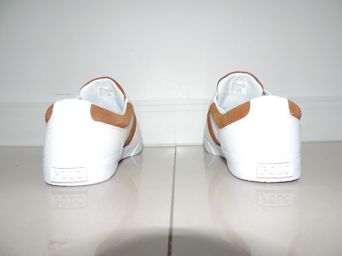 sapato ralph lauren original - branco. Carregando zoom. 0e9827caa57