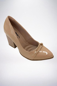 79a2ae9c03 Sapato Nude Ramarim - Sapatos no Mercado Livre Brasil