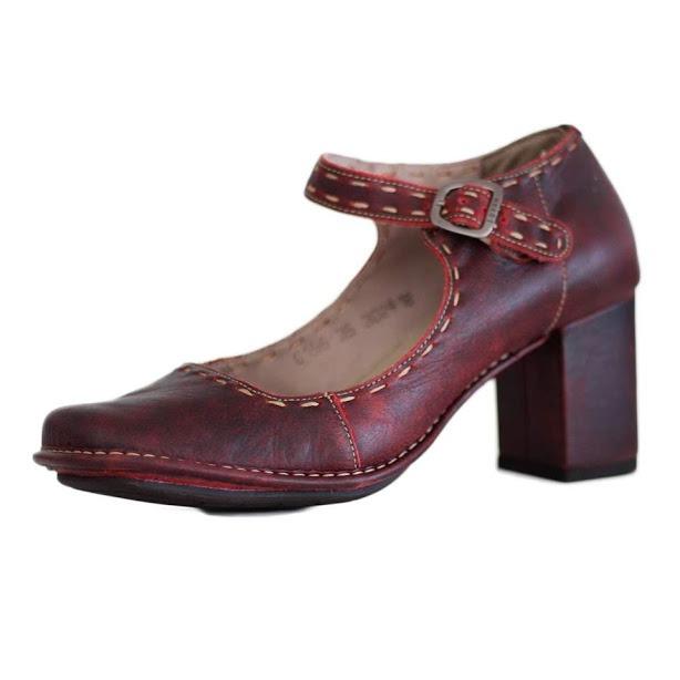 d967d8aa6 Sapato Retrô Vintage Confortável Estilo Bonecaar0155 Compre! - R ...