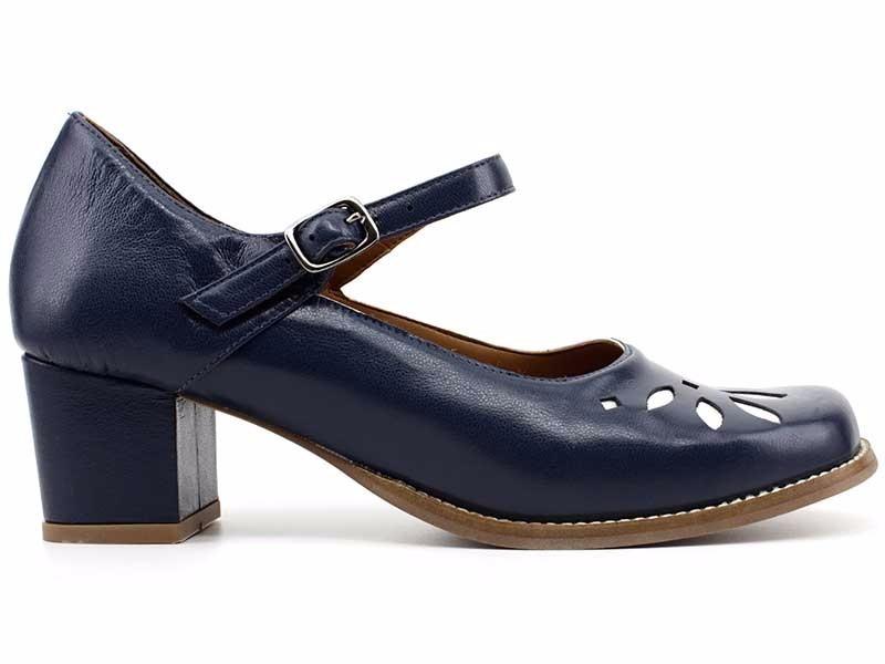 cf19973516 Sapato Retro Feminino Couro Legítimo Rima 2173 Loja Pixolé - R$ 99 ...