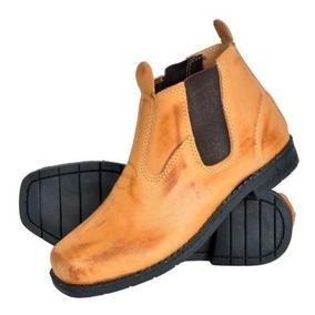 7f75f6587b1ac Botinas De Serviço Masculino Botas - Sapatos com o Melhores Preços no  Mercado Livre Brasil