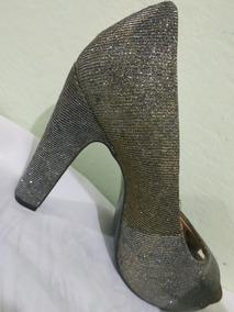 72bacd571c Sapatos De Salto Meia Pata Usados Wish Feminino Usado no Mercado Livre  Brasil