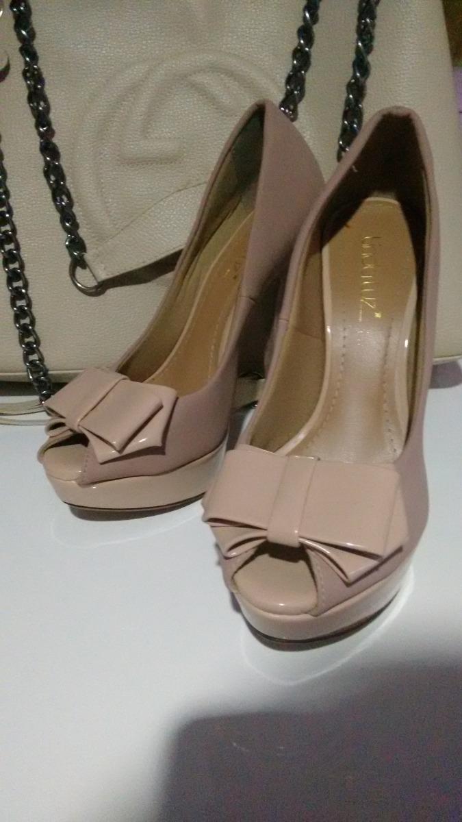 a1775dd3b Sapato Salto Alto Linda Luz - R$ 39,00 em Mercado Livre