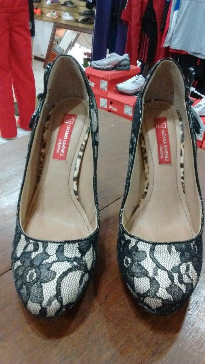f35da30b5 Sapato Salto Alto Luciana Gimenez Miucha - R$ 39,90 em Mercado Livre
