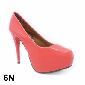 59be71f80a Scarpin Salto Agulha Feminino Scarpins Outras Marcas - Sapatos para  Feminino Laranja no Mercado Livre Brasil