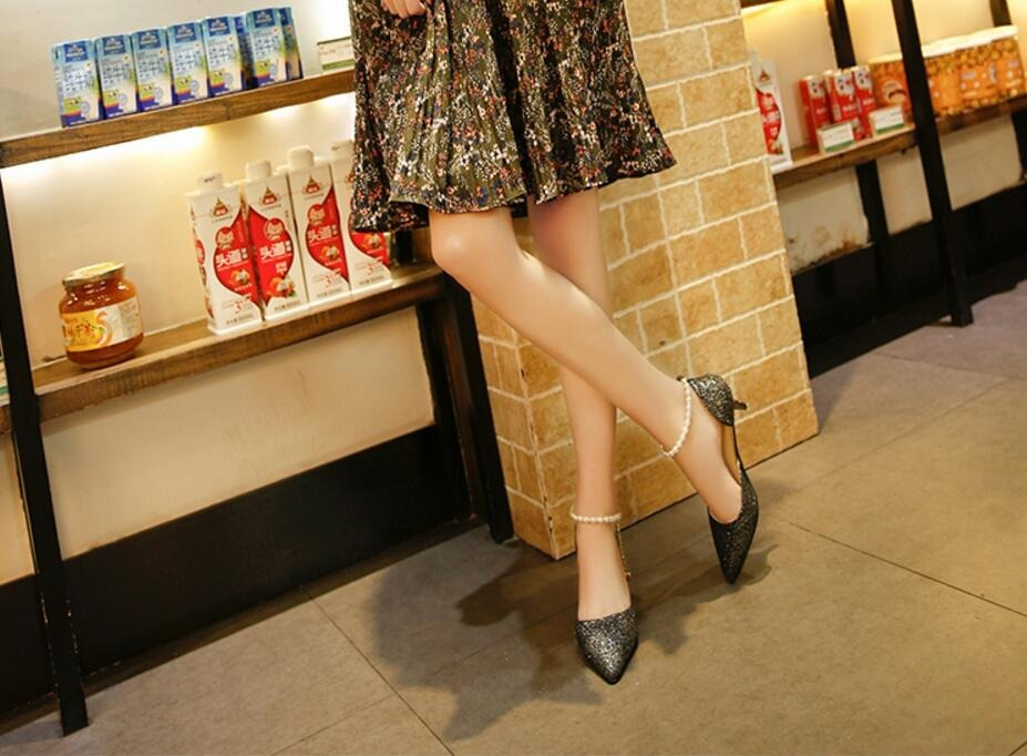 52361dc675 sapato salto alto scarpin bico fino elegante festas eventos. Carregando zoom .