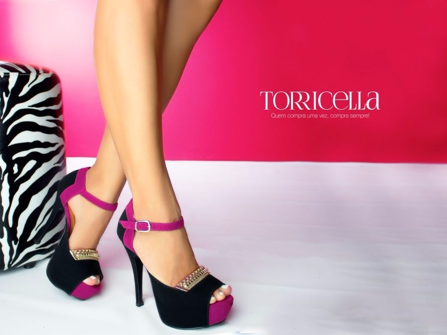 bd2eaaf47 Sapato Salto Alto Scarpin Top Sandália Sapatilha Feminino - R$ 501 ...