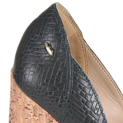 fbbb5f9469 Sapato Salto Feminino Dakota - Verde Escuro - R  69