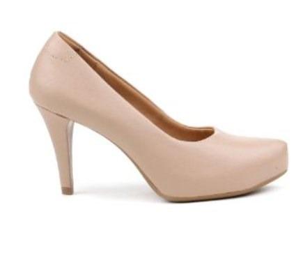 07d926b01 Sapato Salto Feminino Nude Usaflex Tamanho 36 - R$ 169,90 em Mercado ...