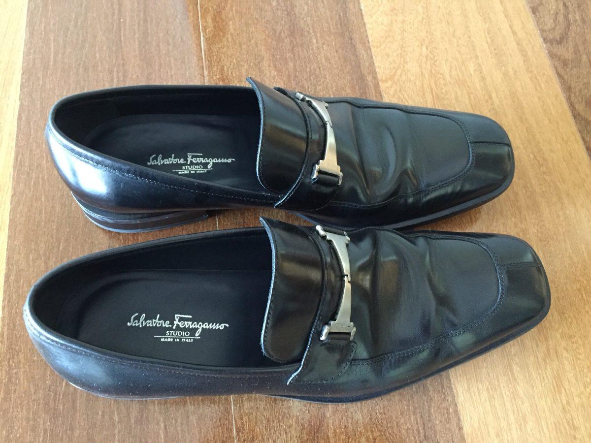 8d3e7806100b3 sapato salvatore ferragamo original preto masculino. Carregando zoom.