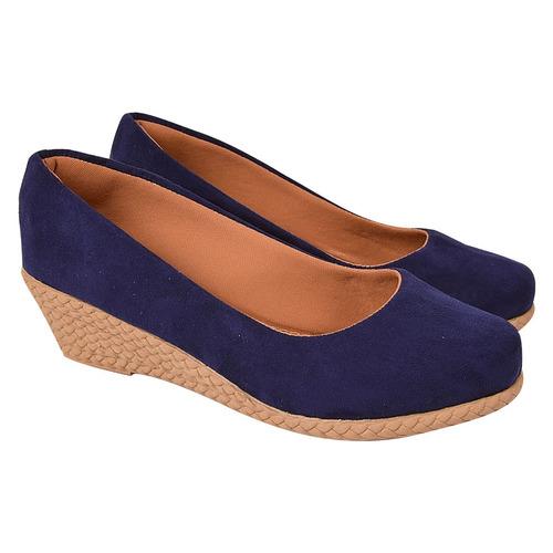 sapato sandalia anabela