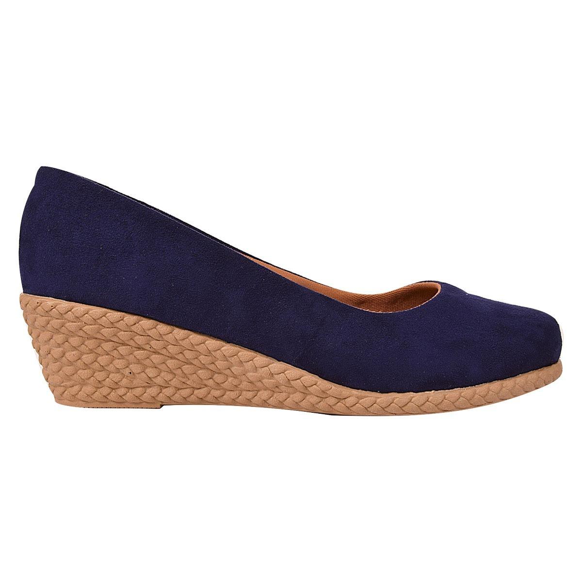 6db222e08 sapato sandalia feminina salto alto grosso anabela wlh 11. Carregando zoom.