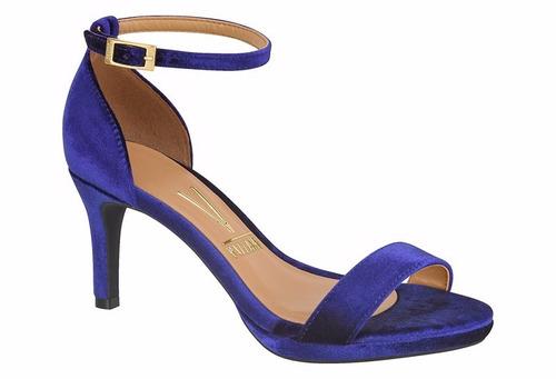 sapato sandália feminina vizzano salto alto 6321106 promoção