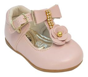 461154bc1 Sandalia Couro De Cabrito - Sapatos para Meninas Rosa-claro com o ...