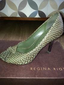 3a89402f6 Sapatos Femininos Regina Rios - Sapatos com o Melhores Preços no Mercado  Livre Brasil