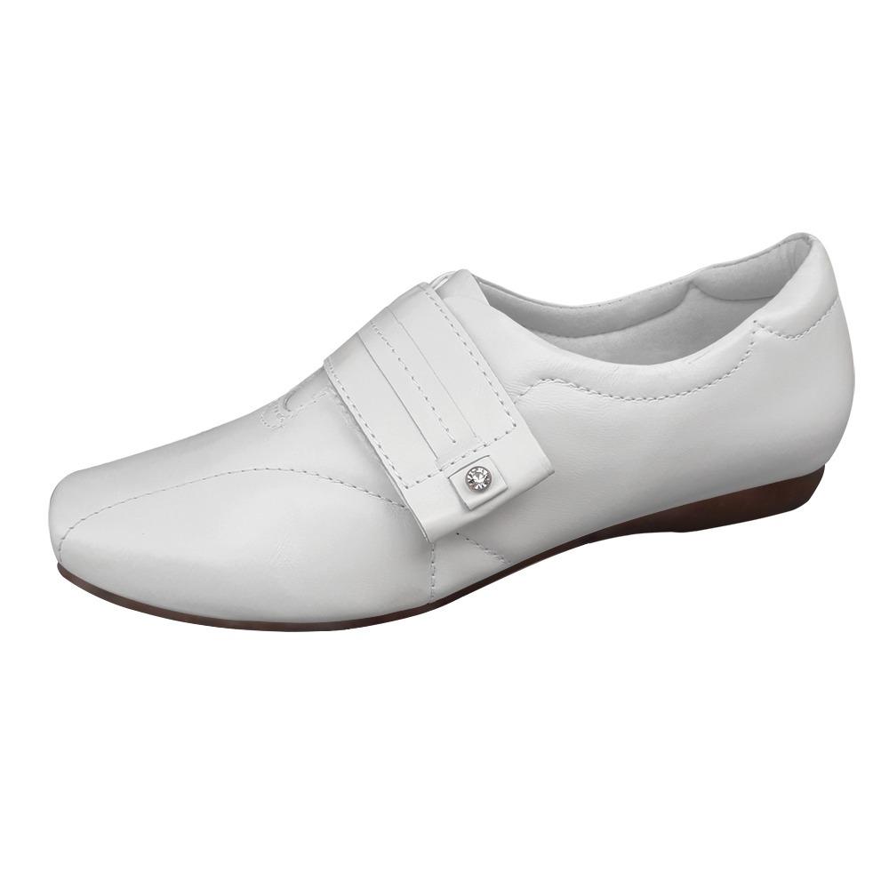 a636c5b831 Sapato Sapatenis Branco Couro Nr32 Enfermagem Neftali Clinic - R ...