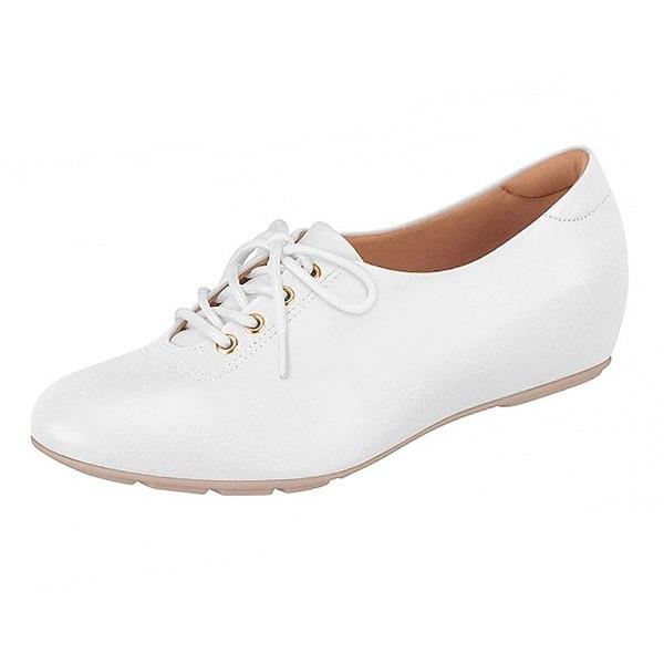 a26ef68fc Sapato Sapatenis Branco Enfermagem Feminino Ultra Conforto - R$ 120 ...