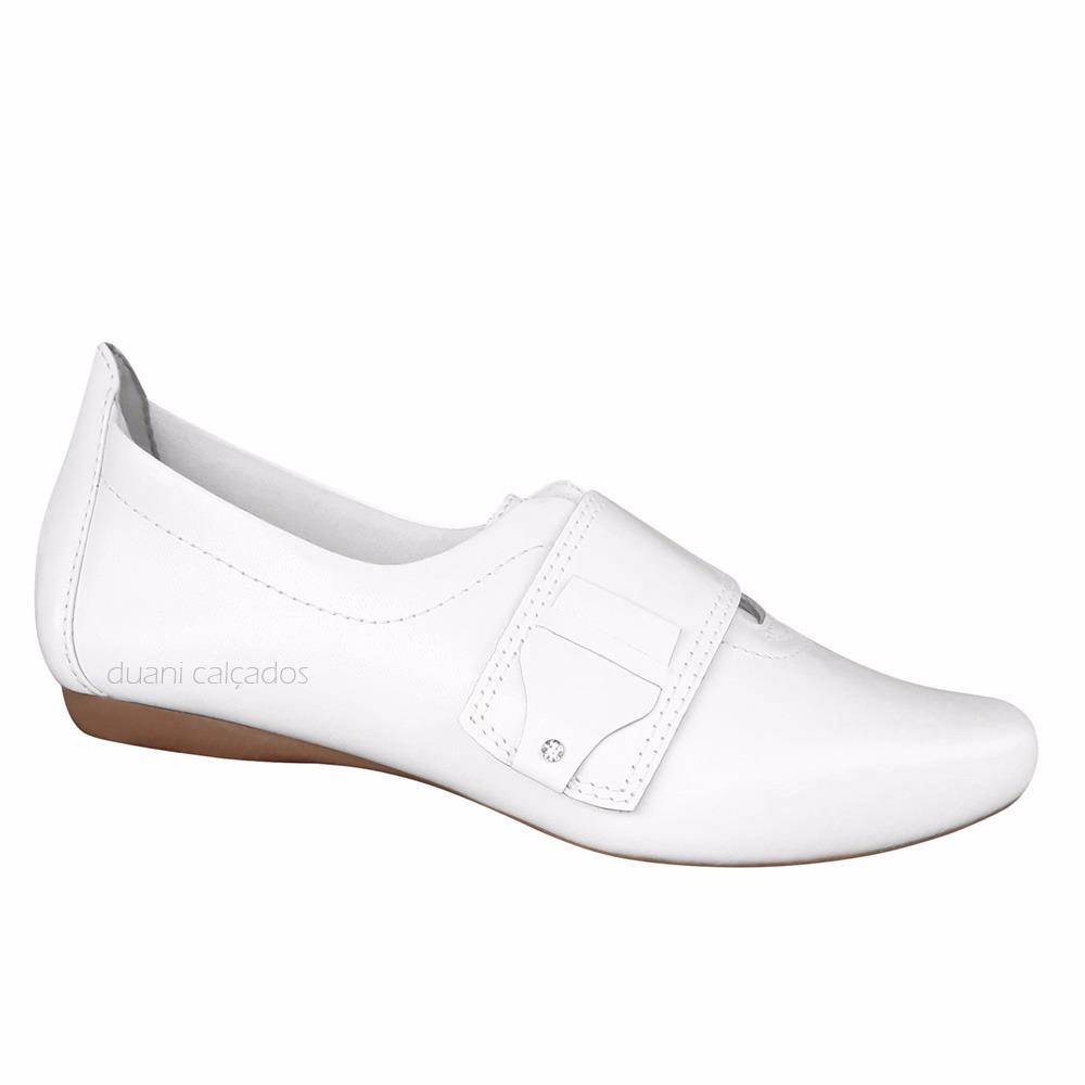77a7ce0c92 sapato sapatenis feminino branco couro neftali profissional. Carregando  zoom.