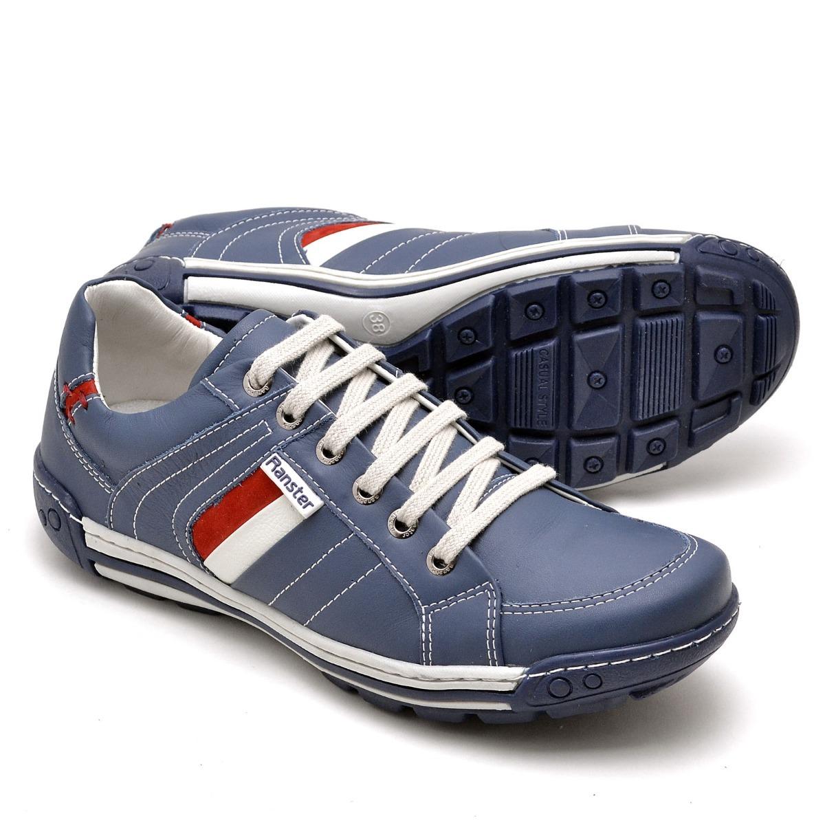 350d9e5cb sapato sapatenis masculino casual couro estilo pegada leve. Carregando zoom.
