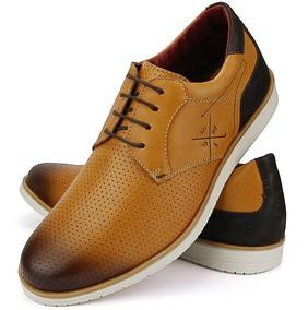 be28760cb Couro Marrom Furadinho Mocassins - Sapatos Sociais e Mocassins com o ...
