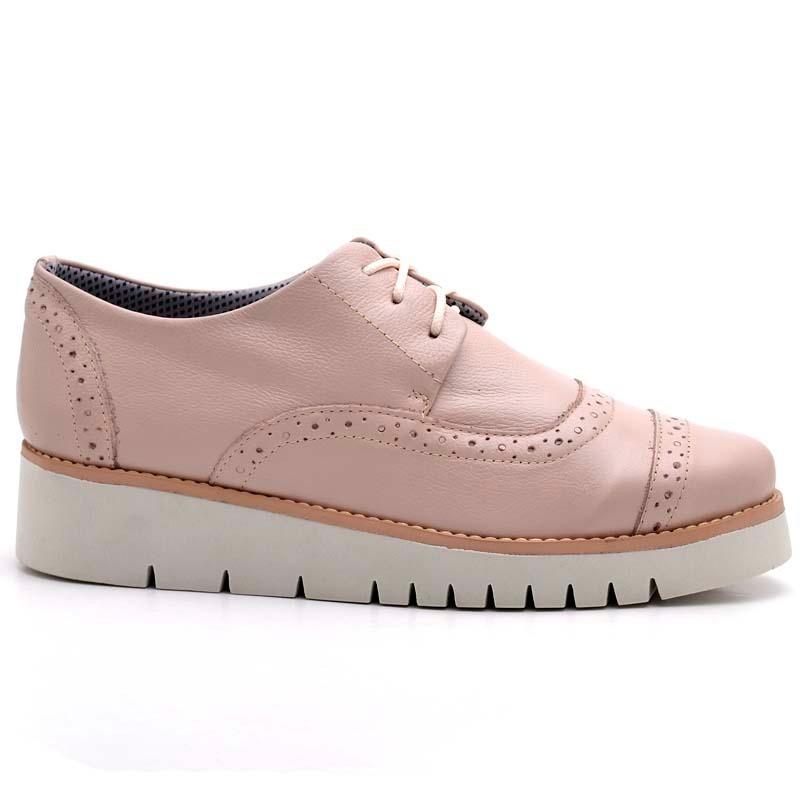 540de12949 sapato sapatenis tênis feminino tratorada couro oxford. Carregando zoom.
