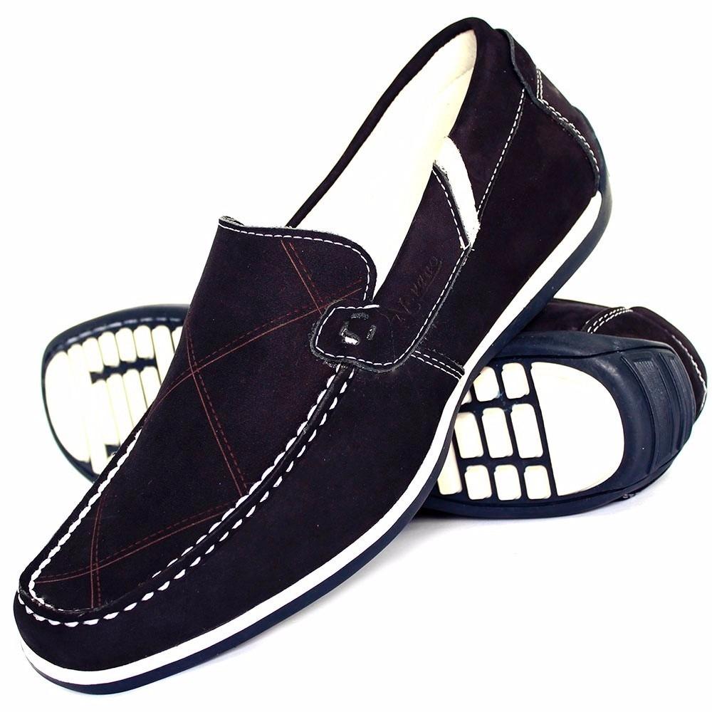 9803415927 Carregando zoom... sapato sapatilha masculina em couro casual confortável · sapato  sapatilha masculina em couro casual confortável