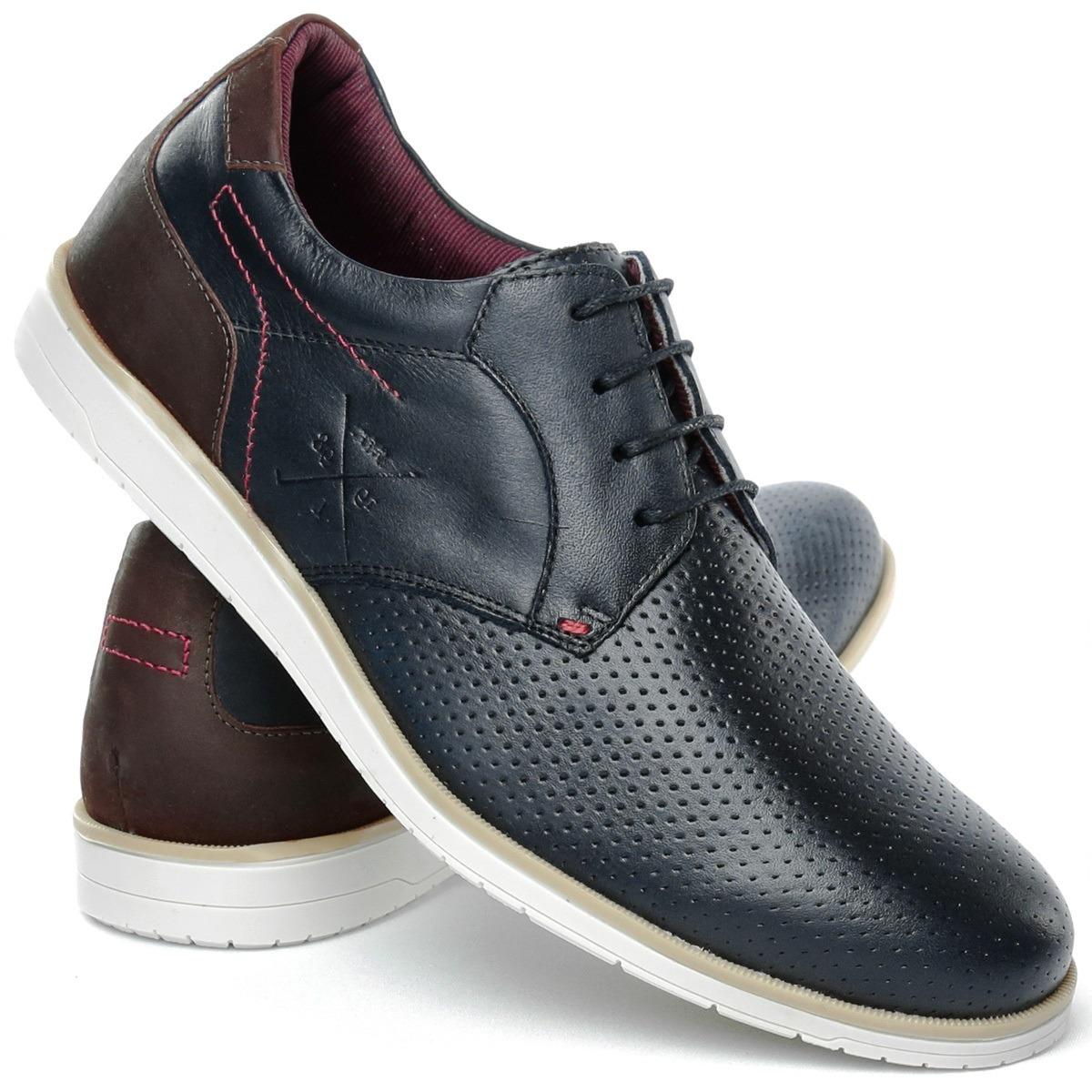 db2c2d17f Sapato Sapatênis Casual Oxford Masculino Em Couro - R$ 99,90 em ...