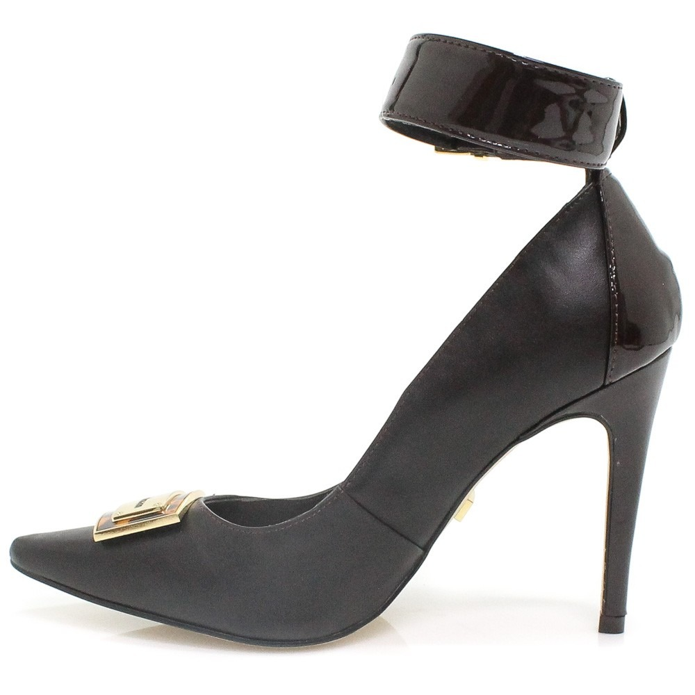 Sapato Scarpin Ana Hickmann Fivela   Zariff - R  89,99 em Mercado Livre 6112f421ab