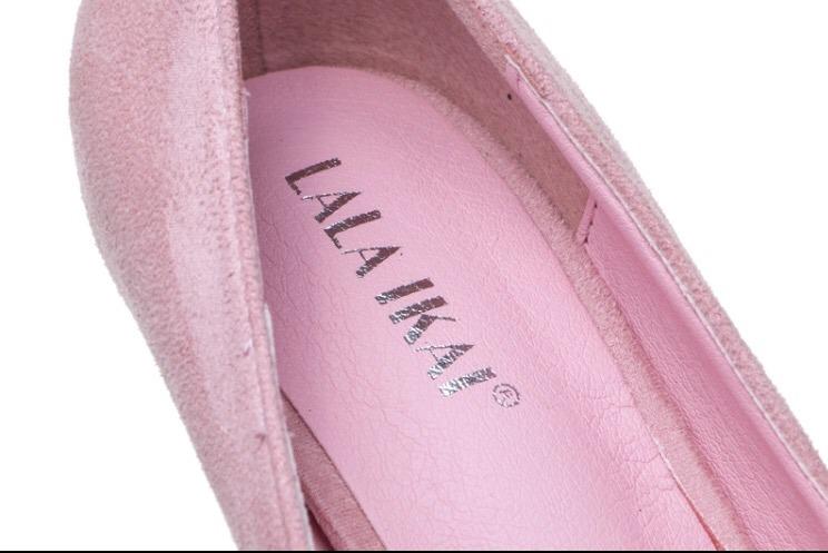 39610eaf8 Sapato Scarpin Bico Fino Importado Rosa Bebê - R$ 120,00 em Mercado ...