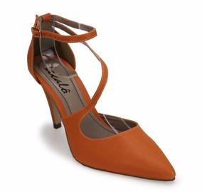 129802d317 Scarpin Salto Agulha Feminino Scarpins Outras Marcas - Sapatos para  Feminino Laranja no Mercado Livre Brasil