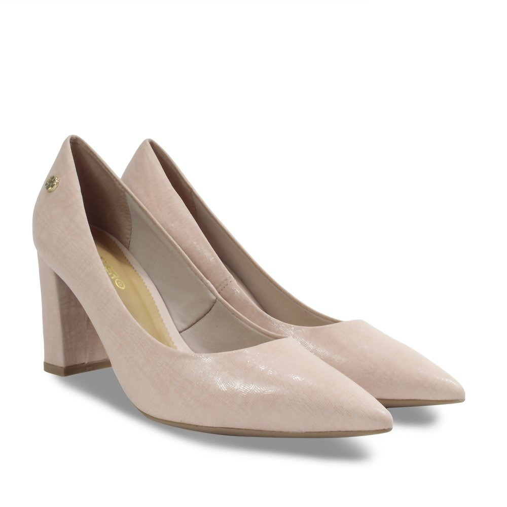 9f40647db sapato scarpin bottero em couro feminino rosa quartz 295001. Carregando  zoom.