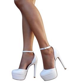 773e36ab9 Sapato Meia Pata Branco Noiva - Calçados, Roupas e Bolsas com o Melhores  Preços no Mercado Livre Brasil