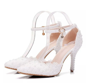 d3c4a9f08c Scarpin Sex Com Strass E Fivela. Feminino Scarpins - Sapatos no Mercado  Livre Brasil