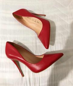66650b27b Scarpin Carrano Esfumado Dourado - Sapatos com o Melhores Preços no Mercado  Livre Brasil