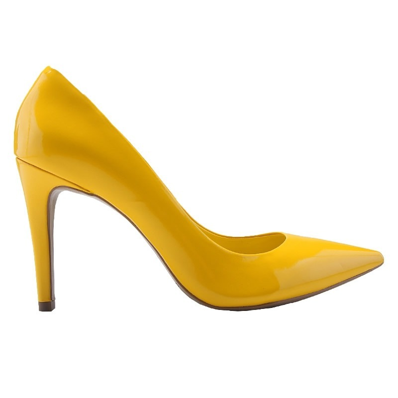 7890b2a17b sapato scarpin cecconello verniz amarelo - 1267. Carregando zoom.