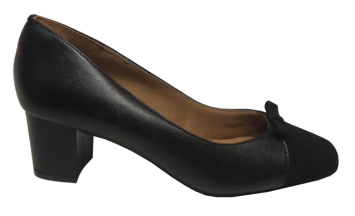 4fb4bb816 Sapato Scarpin Confortável Di Mariotti 9106894 Preto - R$ 188,90 em ...