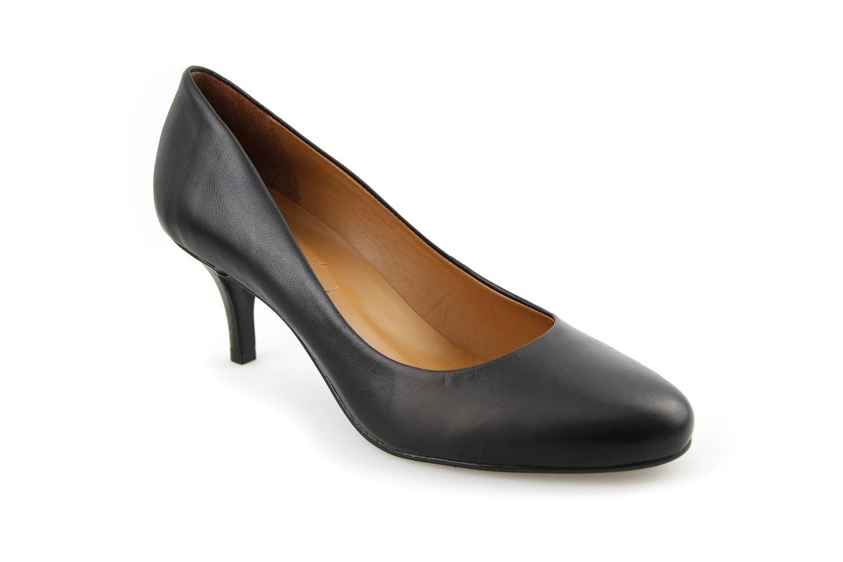 6c8178a2d sapato scarpin couro maravilhoso super confortável promoção. Carregando  zoom.