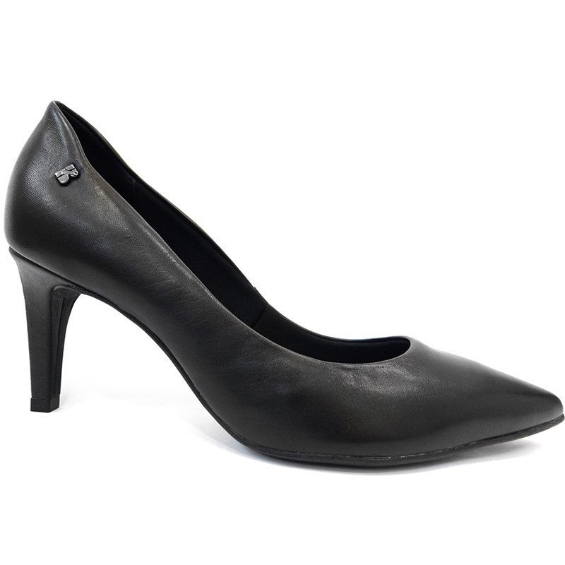 086e84e1d1 sapato scarpin de couro 286902 - bottero (20) - preto. Carregando zoom.