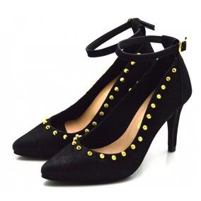32caf5d6e1 Lindo Scarpin Nataniele Preto De Outros Tipos - Sapatos no Mercado ...