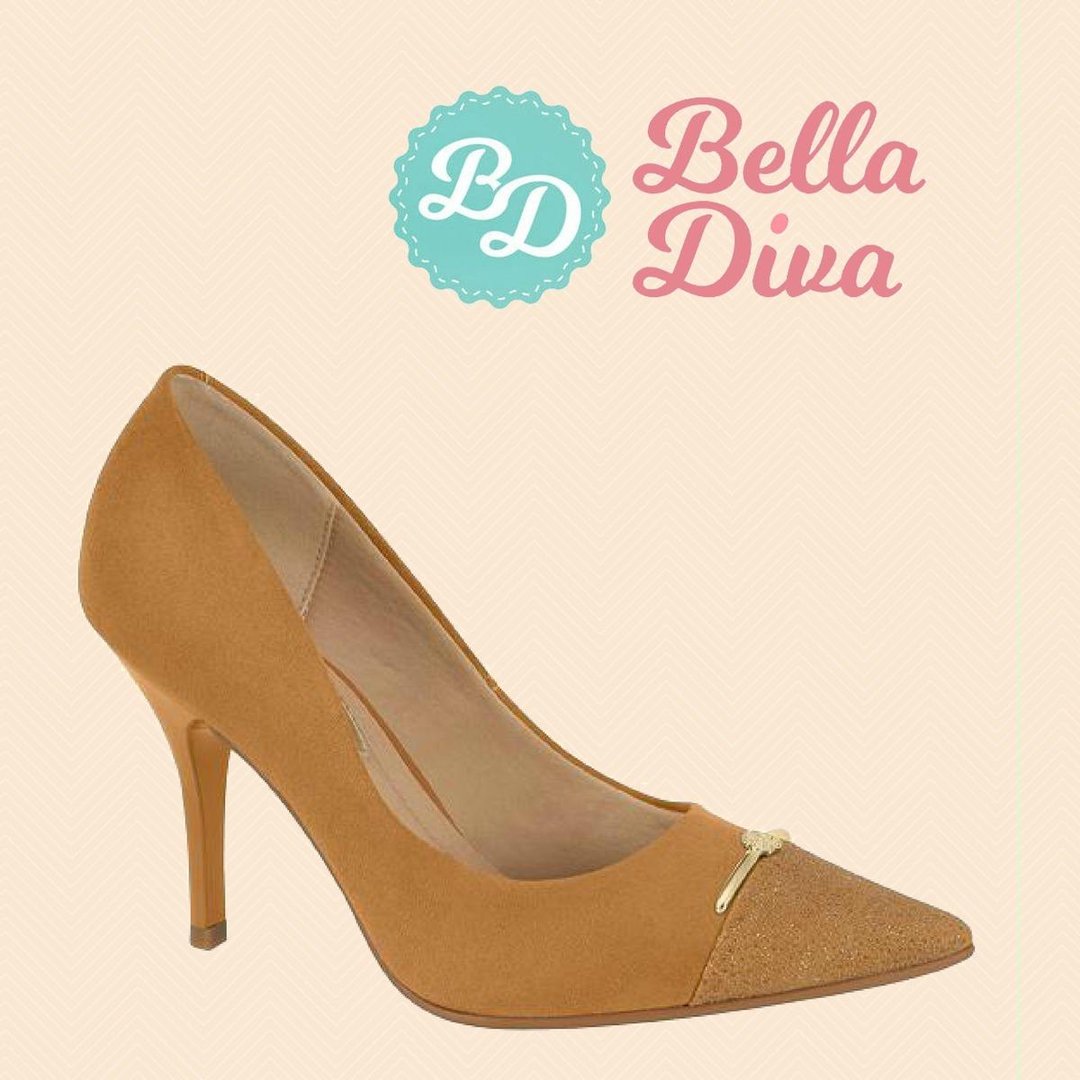 b5e6be832 sapato scarpin feminino bico fino salto alto fino nude festa. Carregando  zoom.