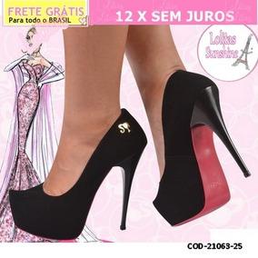 3e70e1251 Sapato Da Barbie Rosa De Salto - Sapatos com o Melhores Preços no Mercado  Livre Brasil
