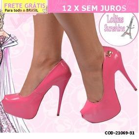 a4acc3c99 Sapato De Salto Barbie no Mercado Livre Brasil