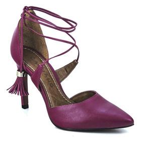f375b753f Sapato Da Couro Fino Feminino Scarpins - Calçados, Roupas e Bolsas com o  Melhores Preços no Mercado Livre Brasil
