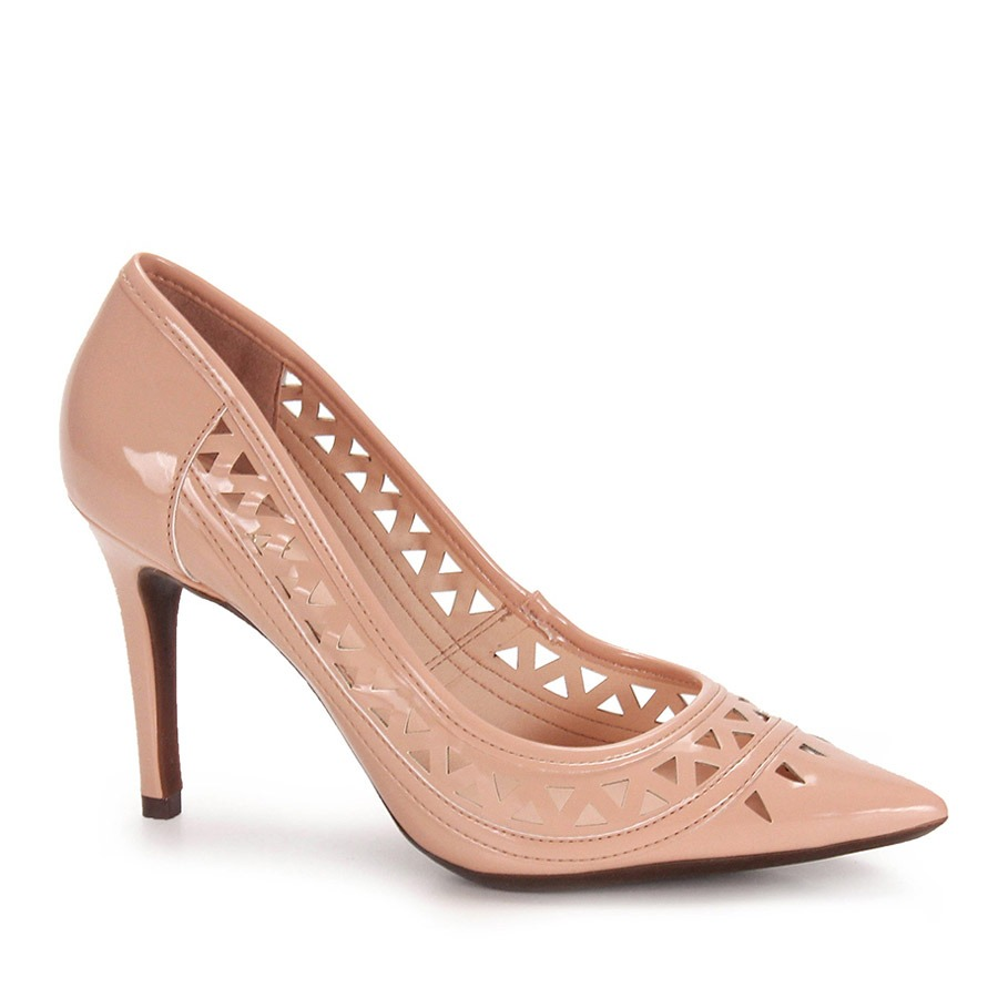 bf5738a04 Sapato Scarpin Feminino Lara - Nude - R  84