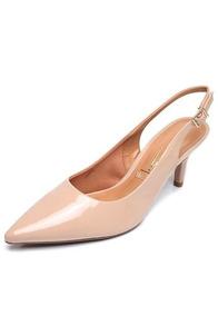 251c2d89f5 Elmo Calcado Feminino Scarpins - Sapatos Bege no Mercado Livre Brasil