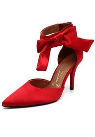 d537a91dfc Lançamento Scarpin Vizzano Roxo Laço - Sapatos no Mercado Livre Brasil
