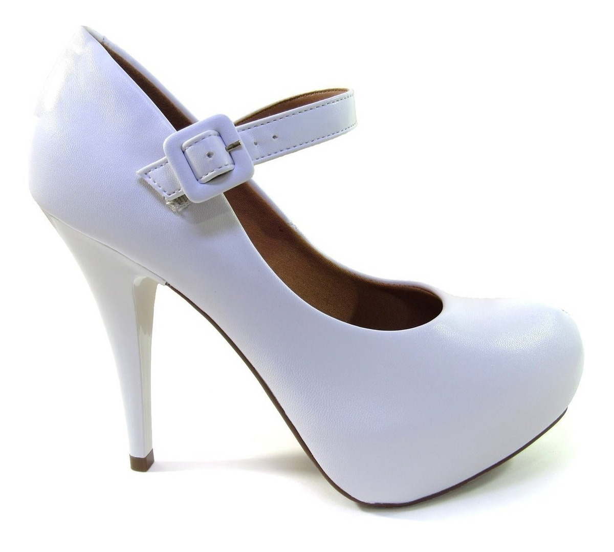 81d69ebb6 sapato scarpin feminino vizzano meia pata 1143304 noiva. Carregando zoom.