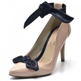 809038eb3a Sapato Preto Scarpin Anzetutto Botas - Sapatos no Mercado Livre Brasil