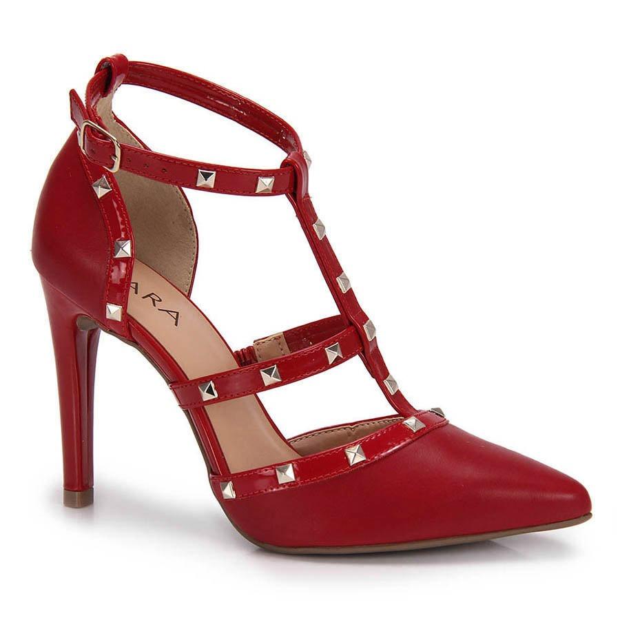 2d37d1e223 Sapato Scarpin Lara Tacha - Vermelho - R  129